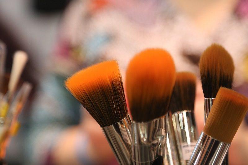 1. Makeup brushes