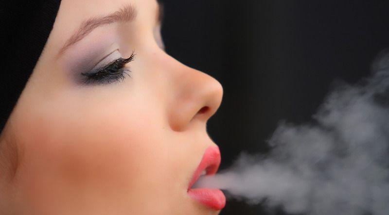 4. Terlalu sering merokok terpapar polusi