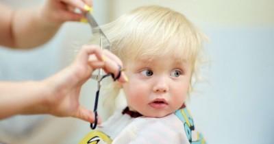 6 Cara agar si Kecil Nggak Takut Dipotong Rambutnya
