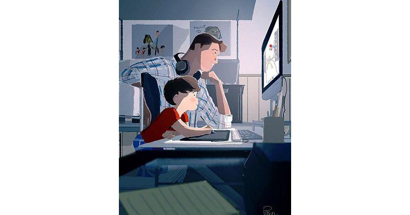 4. Apa Papa kerjakan menjadi daya tarik lebih bagi anak laki-laki