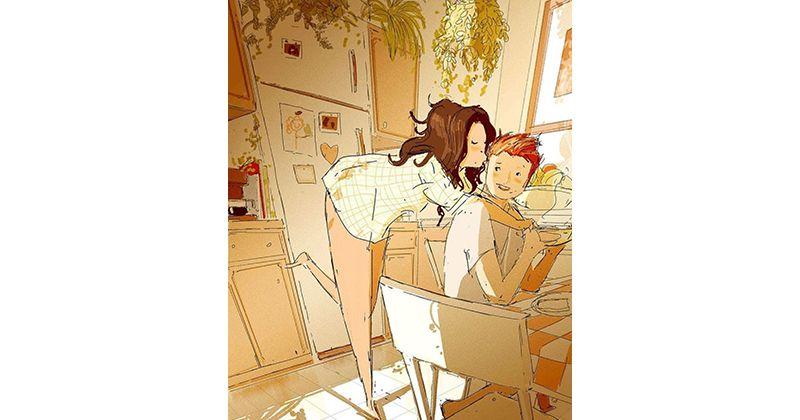 5. Mencium suami kamu setiap hari menambah kebahagiaan relationship setelah pernikahan
