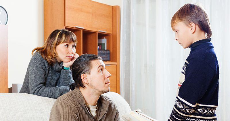 2. Perilaku orangtua tidak konsisten