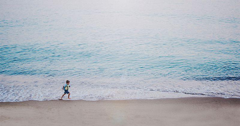 5. Perkenalkan anak penjaga pantai