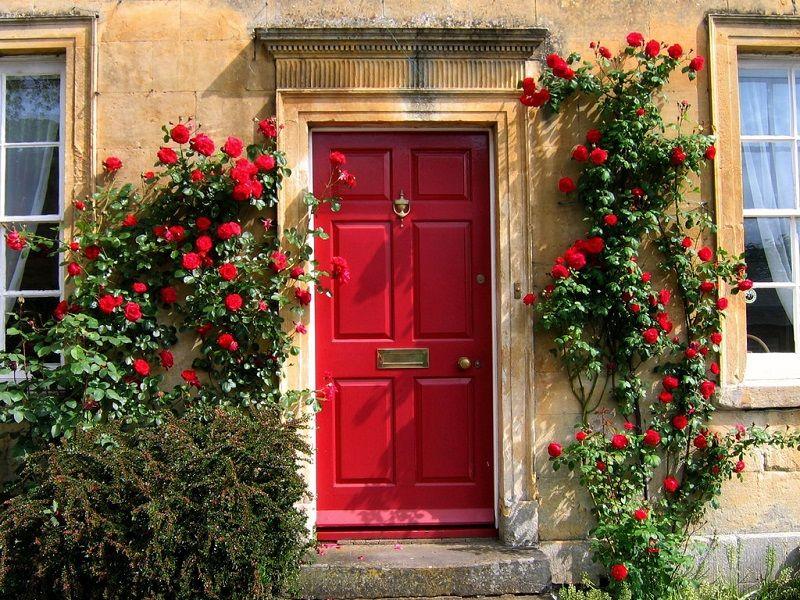 1. Merah menarik dewi fortuna datang ke rumahmu