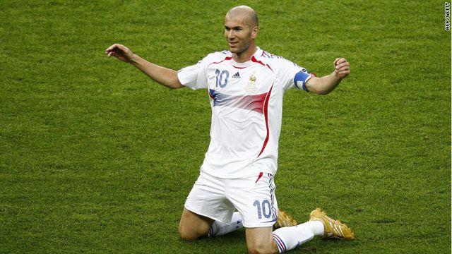 8. Zinedine Zidane