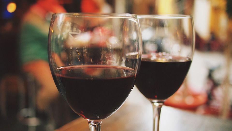 7. Anggur merah
