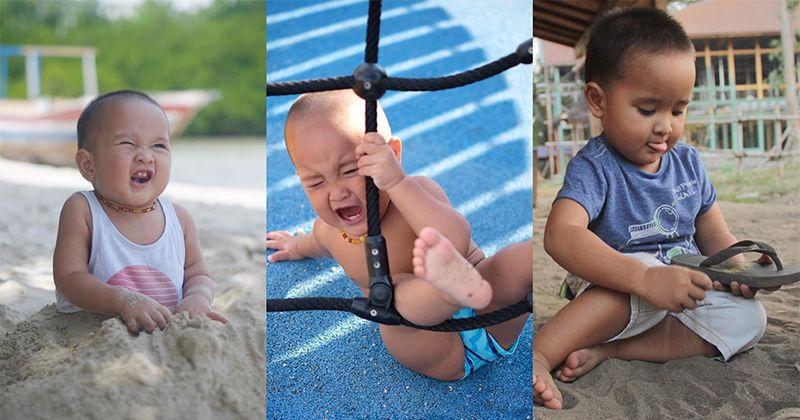 7 Foto Lucu Bhai Kaba, Putra Ketiga Zaskia Mecca Hanung