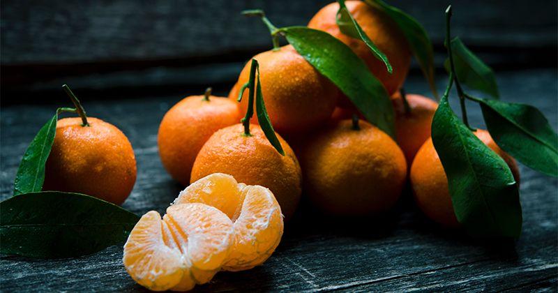7. Buah jeruk