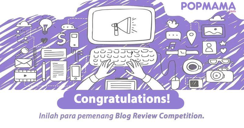 Pengumuman Pemenang Blog Review Competition