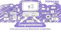 Pengumuman Pemenang Blog Review Competition
