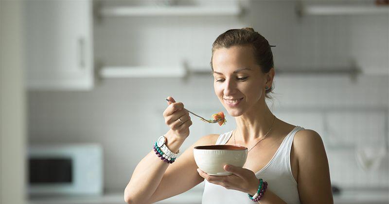 6. Makan sesuai jadwal secara teratur