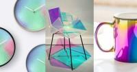 Furniture Rumah Bertema Iridescent Bikin Kamu Jatuh Cinta