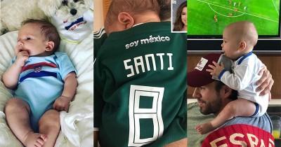 Demam World Cup, 5 Selebritis Mendadani Bayinya ala Bintang Lapangan