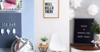 Agar Hari Kamu Makin Bersemangat, Yuk Desain Rumah Letter Board