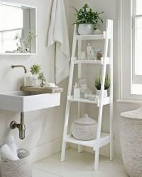 5. Sediakan tanaman hias pembersih udara memberikan keindahan kamar mandi