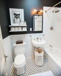 4. Jangan abaikan seni dalam dekorasi kamar mandi