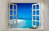 2. Buka jendela udara segar