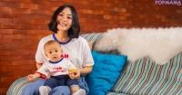 Anak dari Pasangan Rinni Jevin Ulang Tahun Pertama