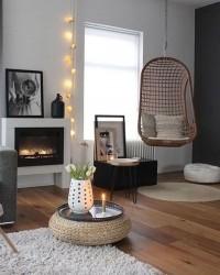1. Living room hammock