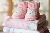 1. Pakaian bayi selimut