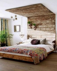 5. Tampak natural kayu bekas