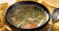 5. Sup hangat