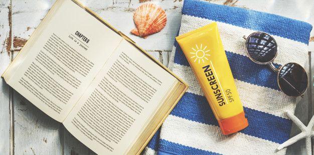 5. Menggunakan sunscreen