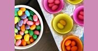 4. Belajar memilah warna permen jelly bean