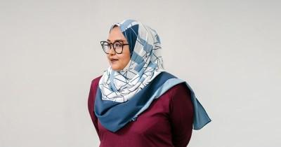 Cara Mengenakan Hijab agar Pipi Terlihat Lebih Tirus