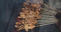 6. Makanan dibakar