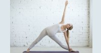 2. Trikonasana (Triangle Pose)
