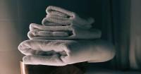 5. Mengeringkan handuk lembut