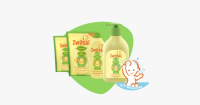 10. Zwitsal Natural Baby Shampoo