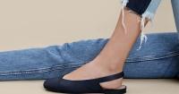 1. Flat shoes bisa dipakai dalam hitungan detik