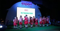 Popex2018 Dibuka Meriah Angklung Performance Anak
