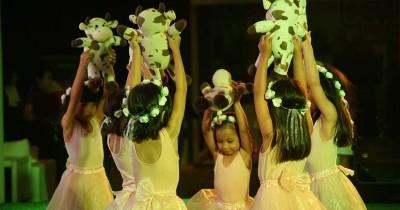 Penampilan Balet Curi Perhatian Pengunjung Popmama Expo 2018