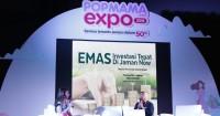 Tips Belajar Berinvestasi Emas Aman Dibahas Popmama Expo 2018