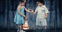 3. Anak biasa berhadapan orang lain