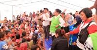 Menteri Yohana Yambise Mengunjungi Perempuan & Anak Korban Gempa Palu