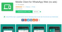 1. Mobile Client for WhatsApp