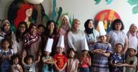 Popmama Arisan Kompak Bersama Anak dalam 'Pizza Making with Pizza'
