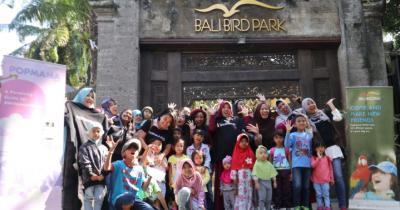 Popmama Arisan Super Seru di Bali Bird Park