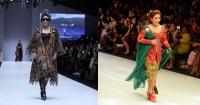 Kain Tenun vs Kebaya, Mana Penampilan Terbaik Menteri Susi Catwalk