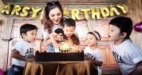 3. Perayaan ulang tahun sederhana