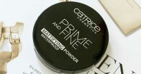 4. Catrice prime and fine mattifying powder waterproof