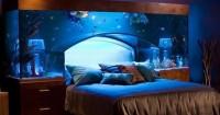 1. Akuarium kamar tidur