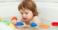 3. Baby bath station