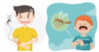 Tips lain dalam melindungi anak dari gigitan serangga