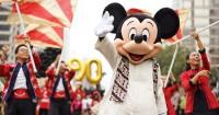 Rayakan Ulang Tahun Ke-90 Tahun, Mickey Mouse Parade Bundaran HI