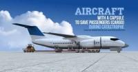 Desain Pesawat Masa Depan Kabin Terpisah Bisa Selamatkan Nyawa